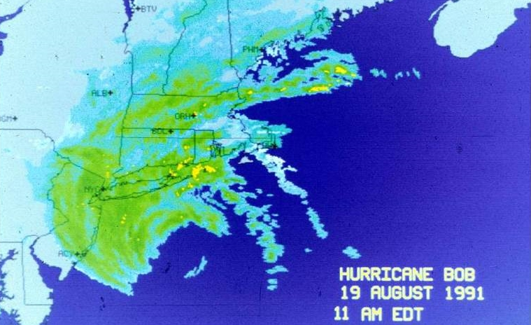 Hurricane Bob in 1991 was the last hurricane to ma