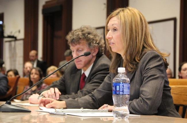 Administration and Finance Secretary Kristen Lepor
