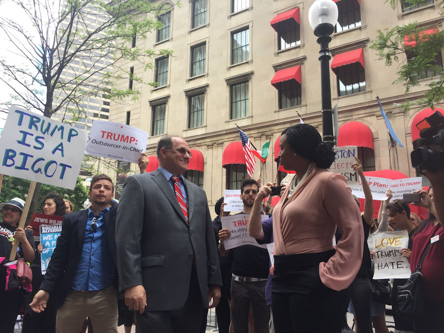 Congressman Michael Capuano and Boston City Counci
