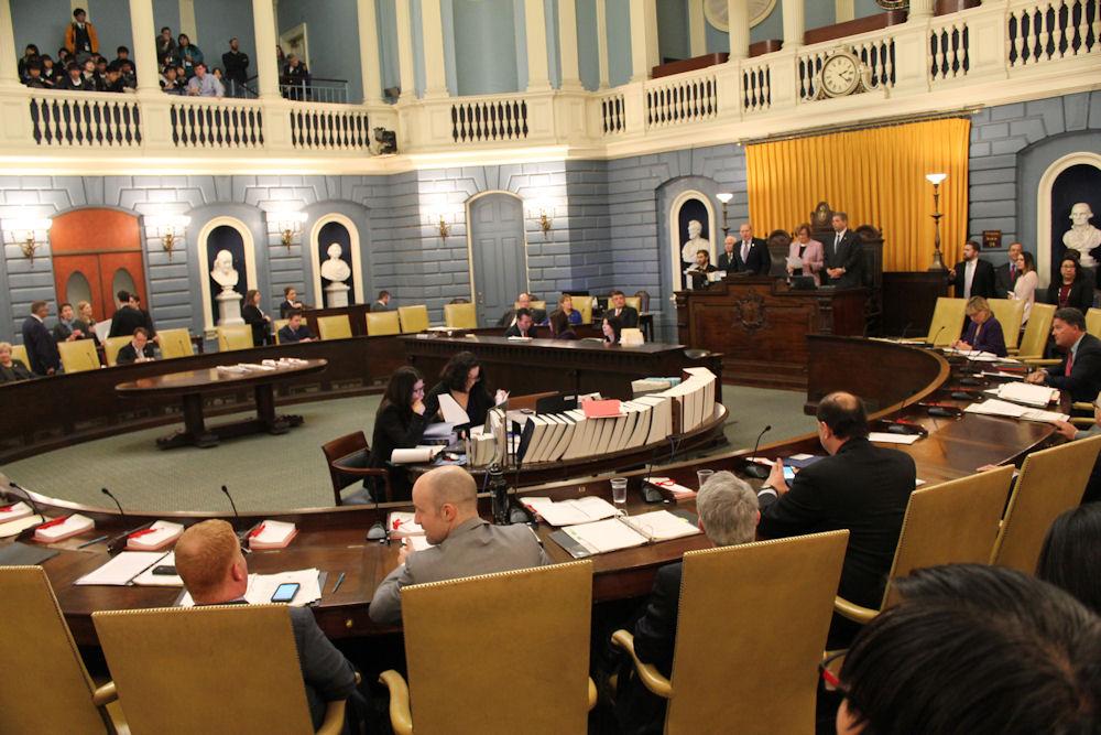Senate Chamber [Photo: Antonio Caban/SHNS]